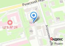 Компания «Поликлиника Центральная городская клиническая больница №24» на карте