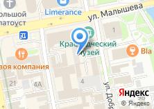 Компания «Ателье мод Оксаны Лучистой» на карте
