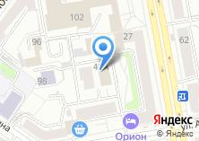 Компания «МИР ДВЕРЕЙ И ОКОН» на карте