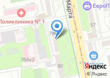 Компания «Массажисты Урала» на карте