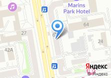 Компания «АНРЭ» на карте