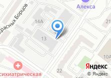 Компания «Орджоникидзевская УЖК» на карте
