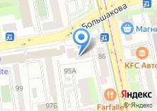 Компания «Валета» на карте