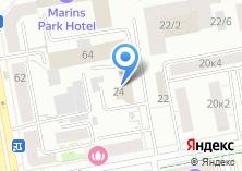 Компания «Convex» на карте