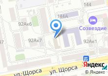 Компания «Озон» на карте
