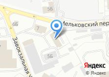 Компания «Деталист» на карте