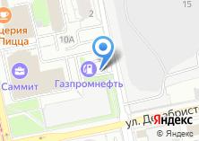 Компания «АЗС Газпромнефть-Урал Ленинский район» на карте