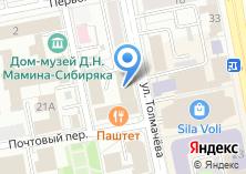 Компания «Паштет» на карте