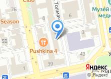 Компания «ЮСИНГ» на карте