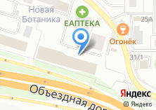 Компания «ТенькаТранс» на карте