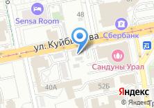 Компания «Комплексный центр социального обслуживания населения г. Екатеринбурга» на карте