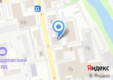 Компания «Малая Герценка» на карте