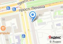 Компания «Burger Кing» на карте