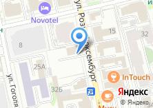 Компания «Банк МБА-МОСКВА» на карте