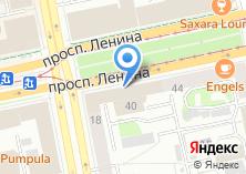 Компания «Уральский Центр Бронирования» на карте