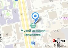Компания «Свердловский областной центр медицинской профилактики» на карте