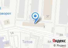 Компания «Техноколор-Екатеринбург» на карте