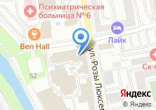Компания «Министерство агропромышленного комплекса и продовольствия Свердловской области» на карте