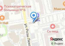 Компания «Техносерв» на карте