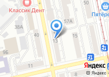 Компания «УралСБ» на карте