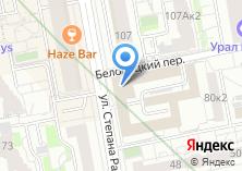 Компания «УРАЛСИБИНВЕСТ» на карте
