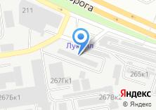 Компания «Заказ» на карте