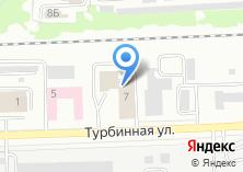 Компания «Уралтеплострой» на карте