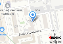 Компания «Белорецкий» на карте