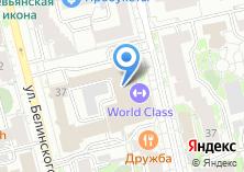 Компания «Елисейский» на карте
