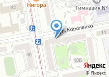 Компания «Уральский банк Сбербанка России Железнодорожное отделение №6143» на карте