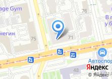 Компания «Гравити» на карте