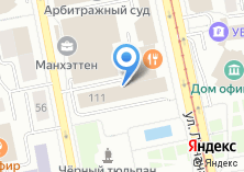 Компания «Министерство по управлению государственным имуществом Свердловской области» на карте