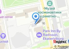 Компания «М1» на карте
