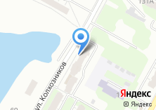 Компания «Библиотека №30 им. К.Ф. Рылеева» на карте