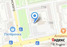 Компания «BS» на карте