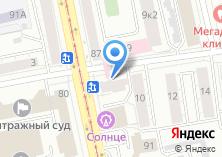 Компания «Уральский центр бронирования и туризма» на карте