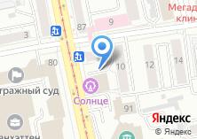 Компания «Строящееся административное здание по ул. Луначарского» на карте