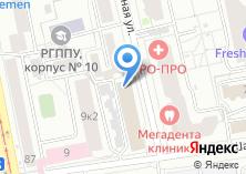 Компания «МД» на карте