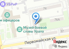 Компания «Maestria» на карте
