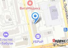 Компания «Уралгазинвест» на карте
