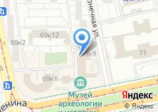 Компания «Свердловский областной краеведческий музей» на карте