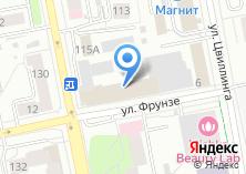 Компания «Управление надзорной деятельности ГУ МЧС России по Свердловской области» на карте