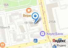 Компания «Дистринт» на карте