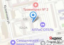 Компания «ОРИС» на карте