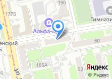 Компания «Медика-дент-Екатеринбург» на карте