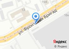 Компания «Уралбетон» на карте