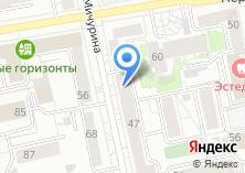 Компания «УралПК» на карте