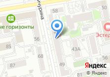 Компания «Трилайн» на карте