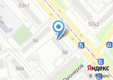 Компания «Урал-двери» на карте