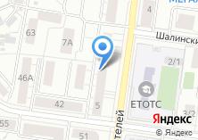 Компания «Техно-Позитив» на карте